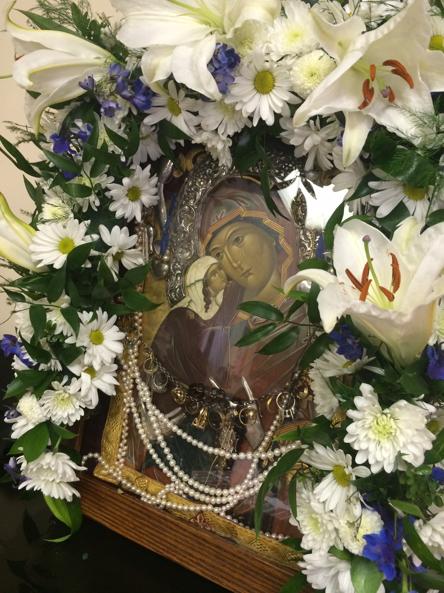 The Monastery Of St Tikhon Of Zadonsk The Miraculous Icon Of St Anna